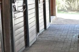 Wood barn isle
